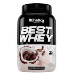 Best Whey - Sabor Coco e Chocolate - Atlhetica Nutrition 900