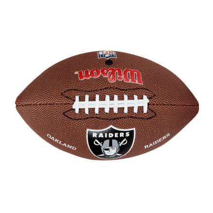 Bola De Futebol Americano NFL Team Logo Jr Oakland Raiders W