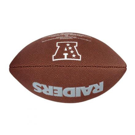 Bola De Futebol Americano NFL Team Logo Jr Oakland Raiders W - buy online