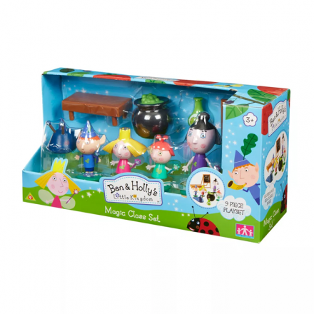 Bonecos Ben&Holy Magic Class Set Multikids - BR758