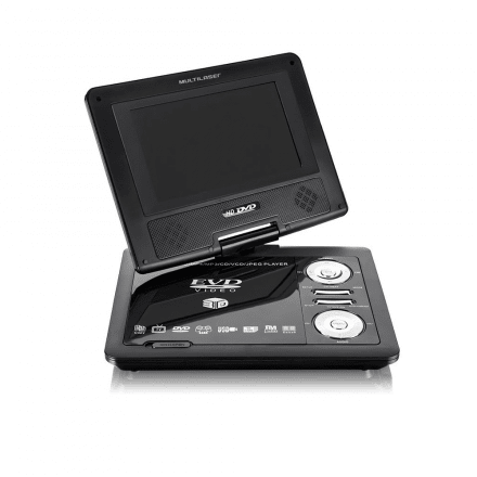 Dvd Automotivo Portatil 7'' Multilaser - AU710