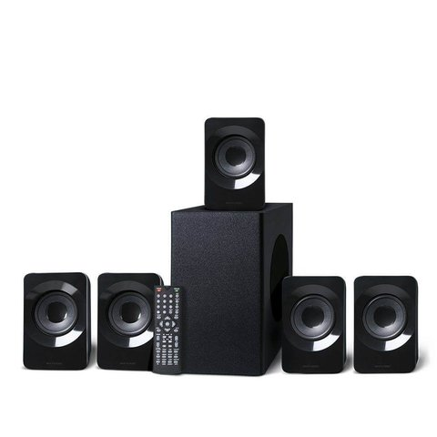 Home Theater HDMI 320W RMS 5.1 Canais Preto Multilaser