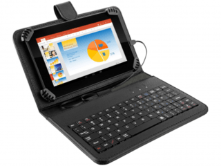 Tablet Multilaser M7S Preto com Teclado e Capa Quad Core And