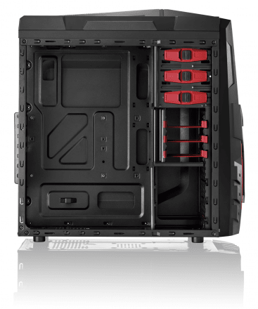 Gabinete GAMER sem Fonte Cooler com LED Multilaser - GA124 - SHOPPUAI - Há mais de 14 anos no E-commerce
