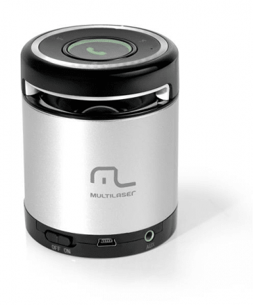 Mini Caixa de Som Portátil c/ Bluetooth Sound Box USB 10W RM
