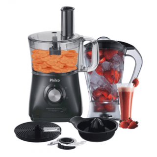 Multiprocessador All In One + Citrus Preto 127V 800W - Philc