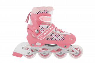 Patins Hello Kitty Tam P Multikids Rosa - BR764