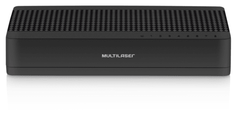 Switch Mini Multilaser 8 Portas Soho RE308