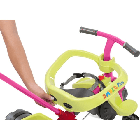 Triciclo Smart Plus Rosa Bandeirante - 281 na internet
