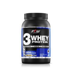 Whey 3 Protein Fitoway FTW - Sabor Chocolate - 900gr