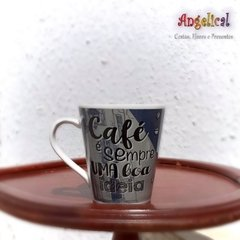 CANECA DECORADA - Angelical Cestas