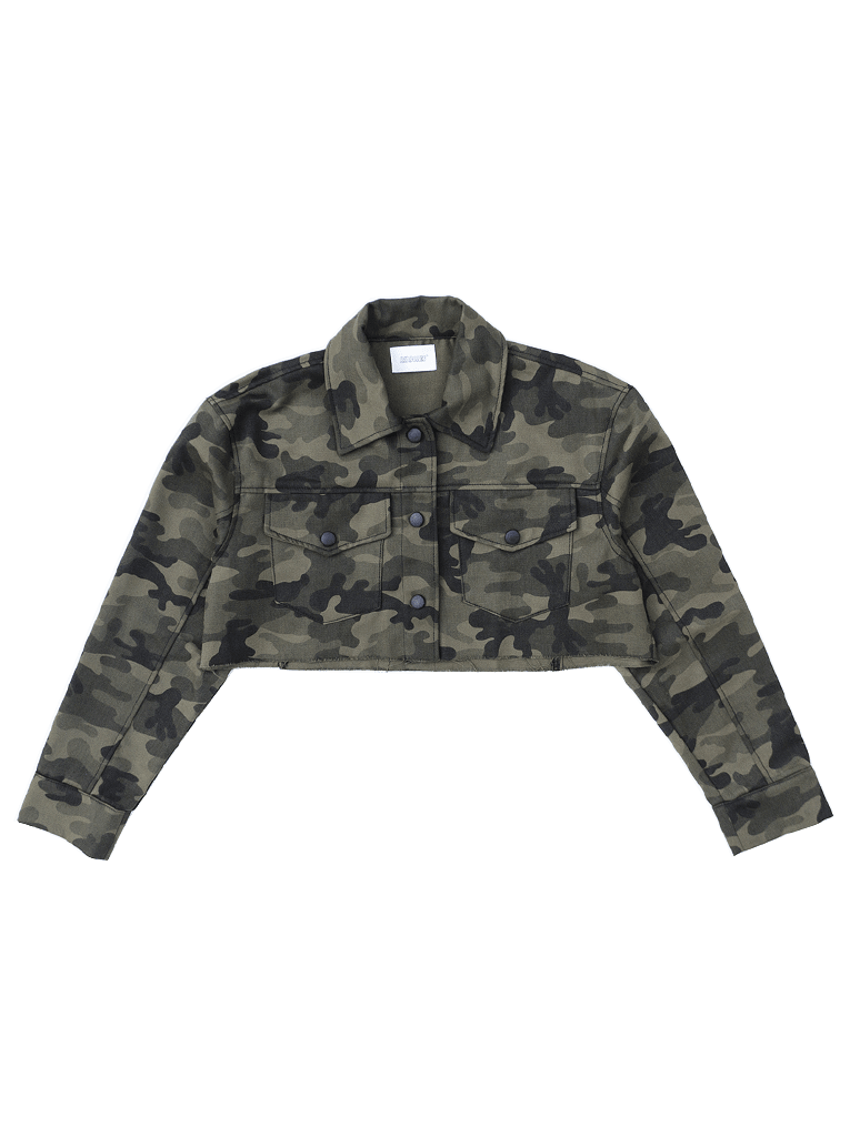 CAMO CROPPED JACKET - LIMITED EDITION