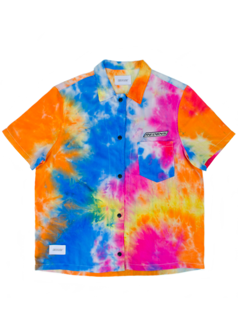 FOXY TIE-DYE SHORT SLEEVE SHIRT