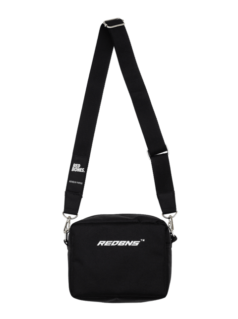 WHITE LOGO MINIBAG