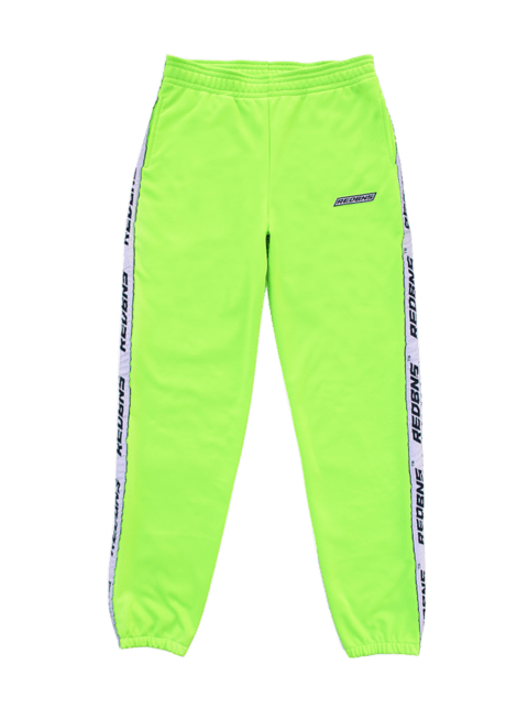 NEON GREEN TRACK PANT