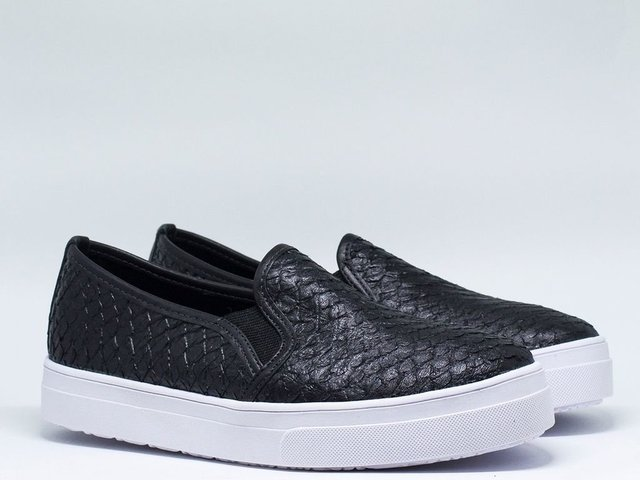 744 Slip On Big Anaconda Preto - comprar online
