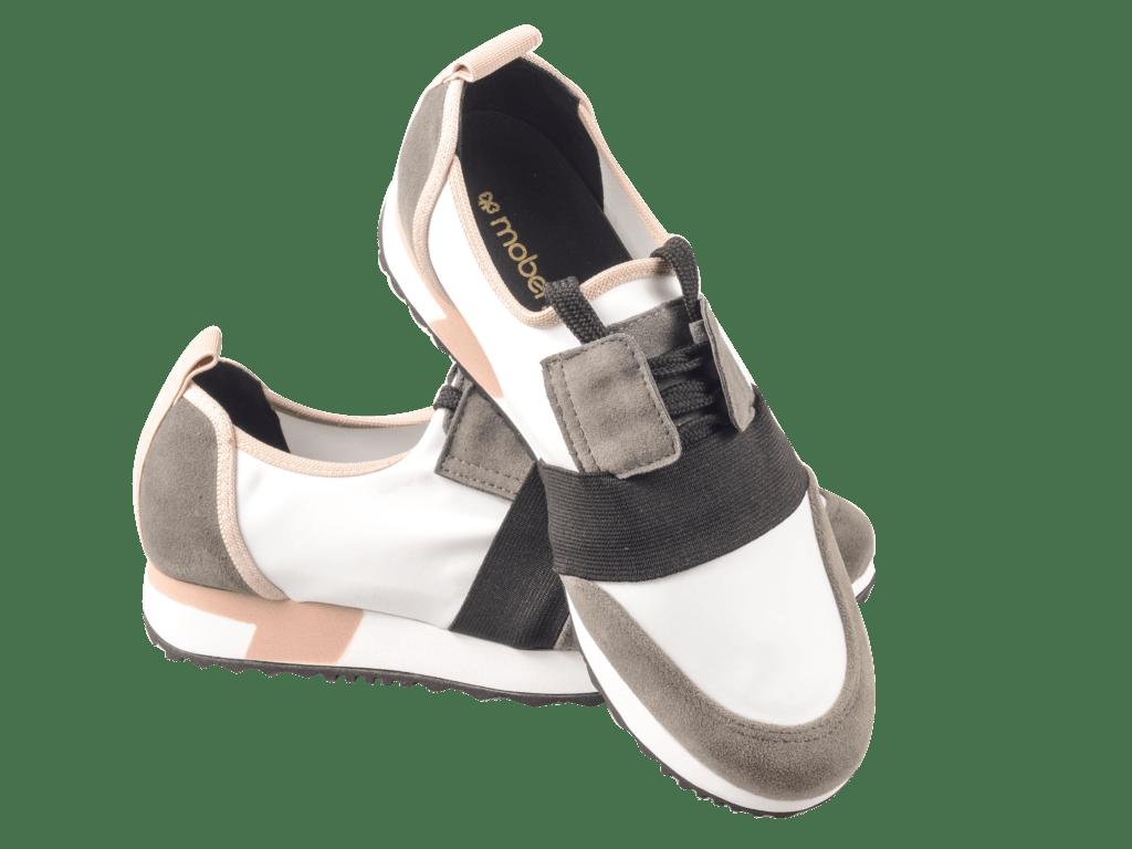 c824c6428e 926 Tênis Chunky Sneaker Neoprene Camurça Preto