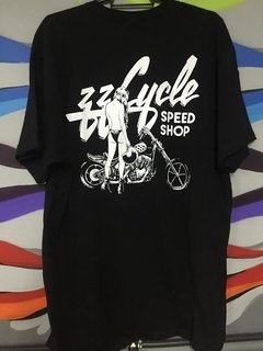 CAMISETA LOGO/MOTO ZzCycle