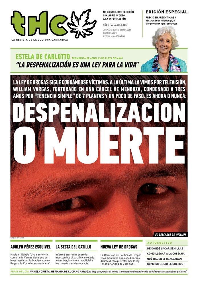 Diario Thc 3 Despenalizacion O Muerte