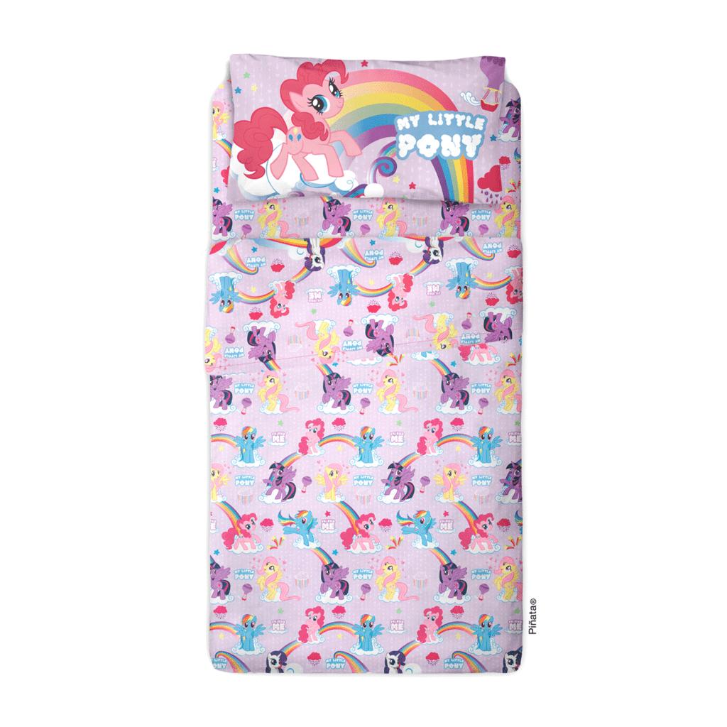 """Sábana Disney diseño """"My little Pony"""". Piñata"""