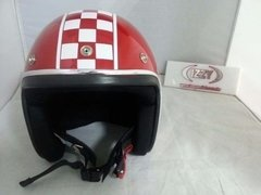 Capacete Old School Cafe Racer