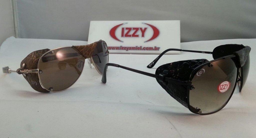 e4b4fc73ca9d1 Óculos de Proteção Lateral com couro - Izzy Amiel