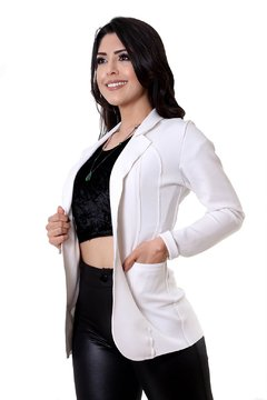 Maxi blazer off white - REF 201880 na internet