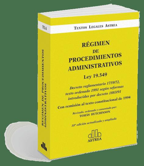 ley 19549 comentada hutchinson