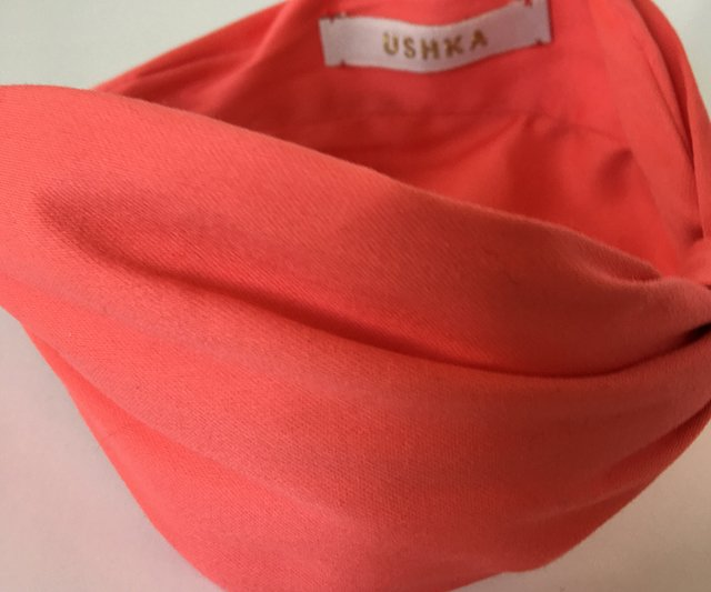 Vincha coral cotton en internet