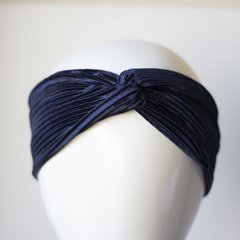 Turbante Blue  Plisado en internet