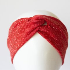 Turbante   Lamé Rojo en internet
