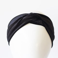 Turbante Velvet Negro en internet