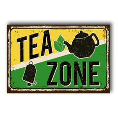PLACA TEA ZONE - comprar online