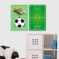 Kit 2 Placas Football