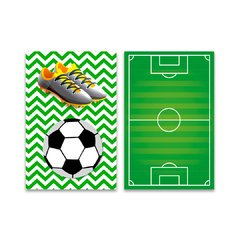 Kit 2 Placas Football - comprar online