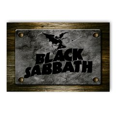 PLACA BLACK SABBATH - comprar online