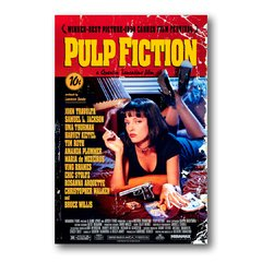 PLACA FILME PULP FICTION