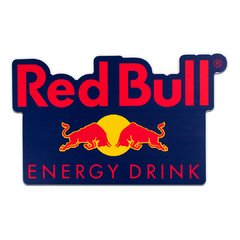 PLACA RECORTE RED BULL  40x24 cm