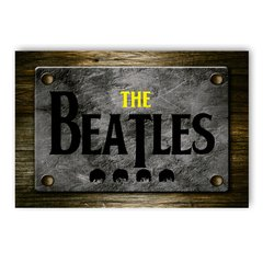 PLACA THE BEATLES - comprar online
