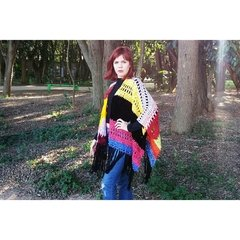 Poncho Happy Winter - comprar online