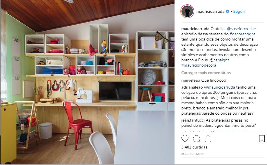 e0684e558 O Ateliê - Só se for crochê fechou uma parceria com a Designer RENATA MOURA  do Studio Renata Moura, para a produção dos cestos