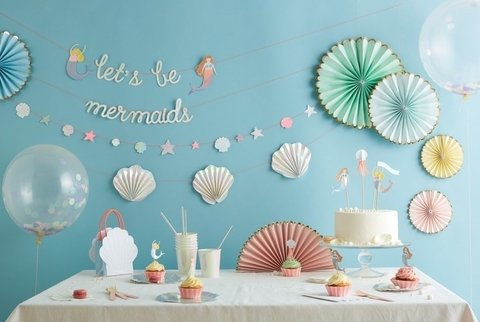 Mermaids Party Box / Sirenas (move el cursor para ver todos los produdctos)
