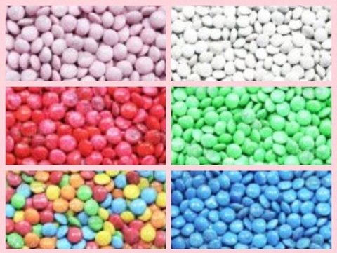 Candy Bar - Chicles - Lentejas de chocolate y Chupetines por color - comprar online