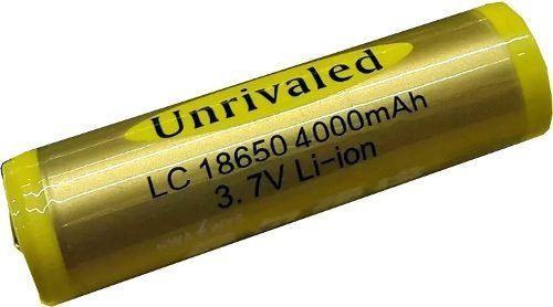 Pila Recargable  18650 3.7 Volts Amperaje Real 2200mah
