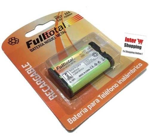 Bateria Telefono Kx-a35 P107  Inalambricos 3.6v  650mah