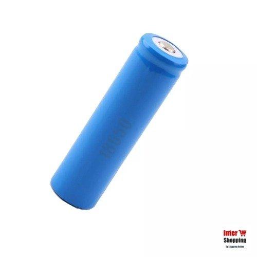 Pila Bateria Recargable 18650 3.7v Para Linterna Tactica