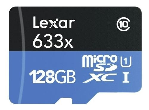 Memoria Lexar Micro Sdhc Uhs-i 128gb 633x 95mb/s 4k Gopro