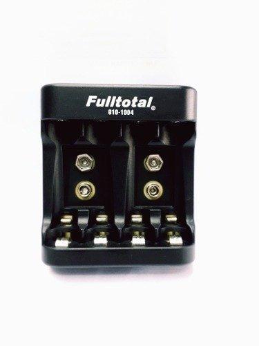 Cargador De Pilas Baterias Aa Aaa 9v Full Total Mod 1004