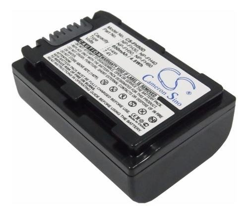 Batería Para Filmadora Sony Np-fh50 Cameron Sino Original