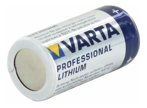 Pila Varta Cr-123a Cr123 Lithium 3v X Mayor Intershopping